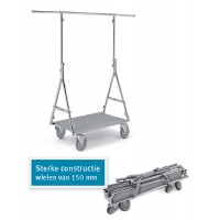Kledingrek Fashion Trolley Pro