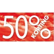 Raambiljet 50% KORTING