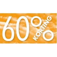 Raambiljet 60% KORTING